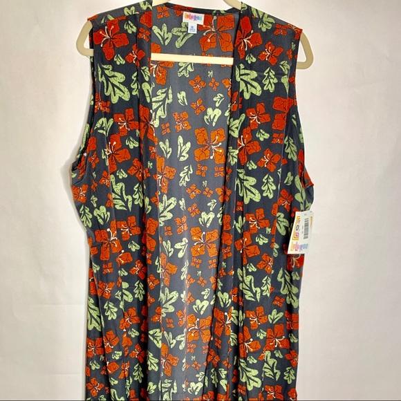 LuLaRoe Jackets & Blazers - NWT LULAROE JOY LONG VEST SIZE XL